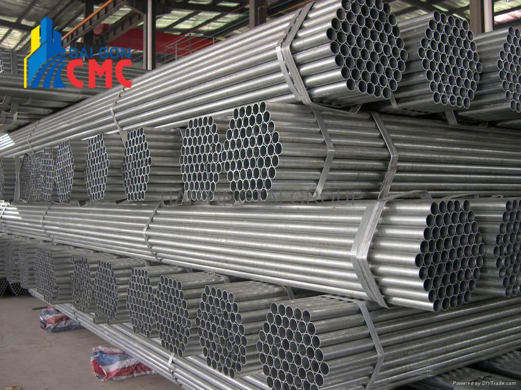 Báo giá thép ống mạ kẽm năm 2021